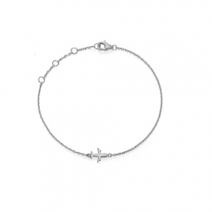CARWENIYA® Fashion Jewelry 925 Silver Fit Charms Bracelet